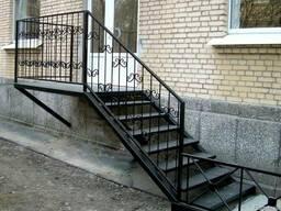 Лестницы металлические винтовые и маршевые изготовление !!! - фото 3