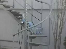 Лестницы металлический каркас
