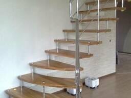 Лестницы на больцах из нержавейки