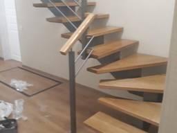 Лестницы обычные и винтовые перила поручни ограждения