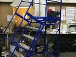 Лестницы передвижные мобильные H 1 - 5 м Цена от минимальной - фото 4