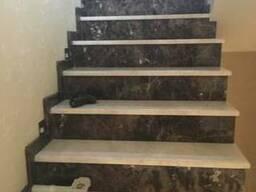 Ступени, лестницы из натурального камня( гранит, мрамор)