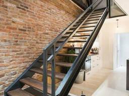Лестницы, перила, художественная ковка