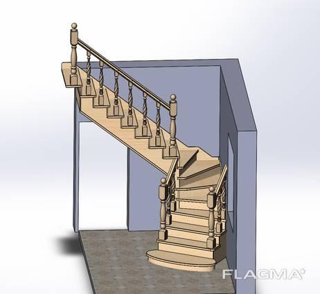 Лестницы. Проект, изготовление, монтаж
