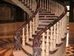 Лестницы из гранита, ступени из гранита и мрамора
