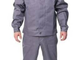 Летний костюм «Строитель» (саржа 35% хлопок) серый