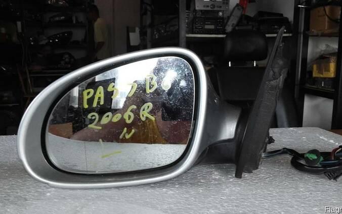 Левое зеркало заднего вида Volkswagen Passat B6 2005-2010