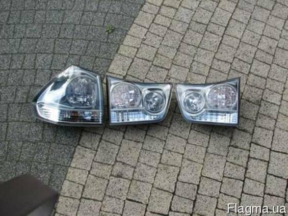 Lexus rx 350 запчасти б.у. разборка  фонари фон