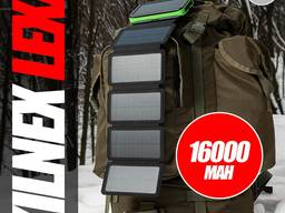 LEXX KilNex 16000 Mah Зарядное Устройство На Солнечных Батареях.