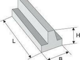 Лежни железобетонные ЛЖ (ЛЖ 16, ЛЖ 28, ЛЖ 44, ЛЖ 60, ЛЖ. ..