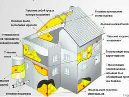 Утепление пенополиуретаном стен, крыш, чердаков, полов(напыл