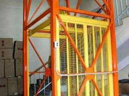 Лифт-подъемник складской, шахтный, консольный, приставной.