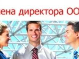 Смена директора фирмы в Днепре, область, Украина