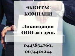 Ликвидация ООО за 1 день. Экспресс-ликвидация ООО в Киеве
