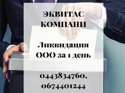 Ликвидация ООО за 1 день Одесса.