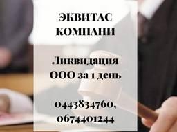 Ликвидируем предприятие за 1 день. Экспресс-ликвидация ООО Киев.
