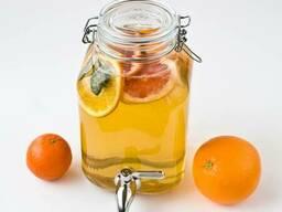 Лимонадница 3л Bormioli с краном, лимонадник, банка, кенди