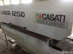 Linea 1250 Casati сшивка шпона.