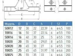 Линейный вал на опоре TBR20 (20 мм)