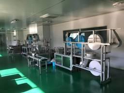 Линии производства масок респираторов N95 автомат