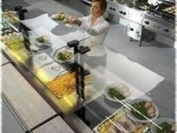 Линии раздачи питания для столовых