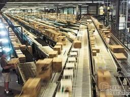 Линия автоматизации склада по напралениям, складская конвейе