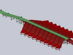 Линия для автоматической сортировки габаритных грузов