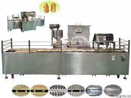 Линия для производства бисквитных кексов с начинкой