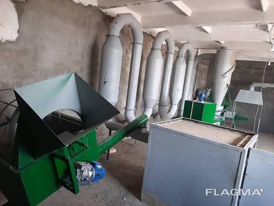 Линия для производства топливных брикетов типа Pini Kay