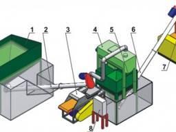 Линия экструдирования отходов мясопереработки 0, 5 т/ч