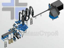Линия гранулирования МЛГ-1000/1500 combi Duo с Аэродинамическим осушителем.