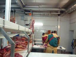Линия обвалки КРС и свиней. Цех обвалки мяса
