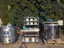 Линия переработки молока от 50 до 10000 литров