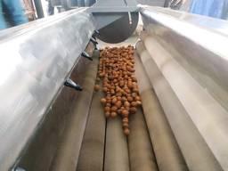 Лінія переробки та очистки горіха