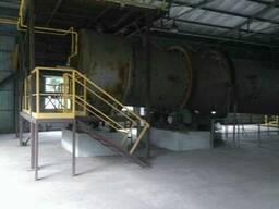 Линия по производству активированного угля.