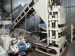 Пресс для производства гиперпресованого кирпича ПАК 300