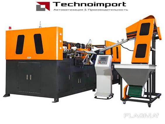 Линия по производству ПЕТ флаконов и бутылок 900-6000 шт/час