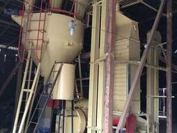 Линия по производству топливных пеллет 800-1000кг/час_ОГМ1,5