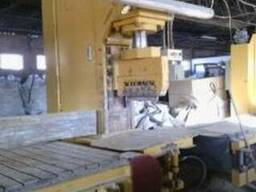 Линия для производства брусчатки гранитной пр-ва 2015 год