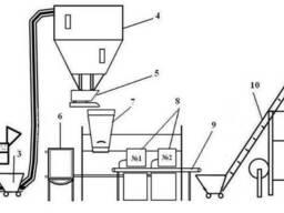 Линия производства попкорна