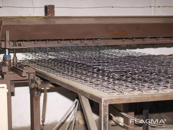 Линия производства пружинных блоков