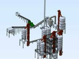 Линия производства сухих строительных смесей (ССС)