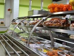 Линии раздачи питания для столовых и кафе