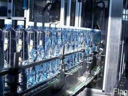 Линия розлива газированной воды 12000 бутылок в час
