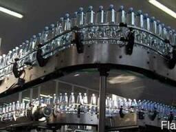 Линия розлива газированной воды 6000 бутылок в час