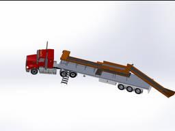 Мобільна сортувальна лінія сміття 20000 тонн/рік для ОТГ