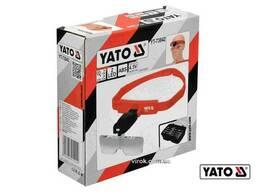 Лінза на голову з підсвіткою YATO 2 LED 5 шт з кратністю 1х, 1.5х, 2х, 2.5х, 3.5х