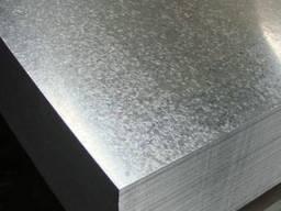 Лист 0. 8 х 1000 х 2000 мм оцинкованный х/к