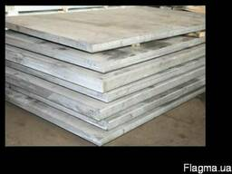 Плита алюминиевая 2024 Т351 15х1520х3020 мм лист алюминиевый