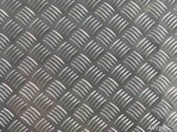 "Лист алюминиевый рифленый ""Квинтет"" (1050) 2х1000х2000 мм"